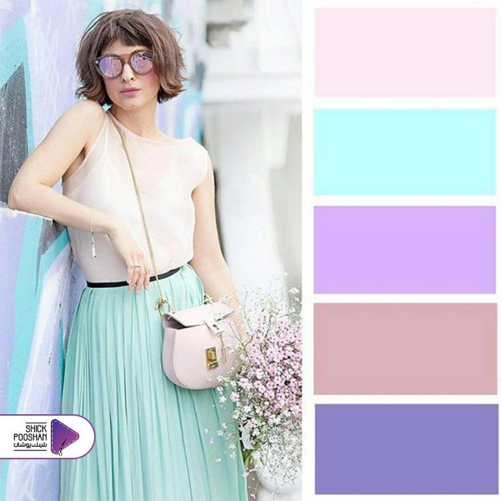 رنگ های پاستیلی